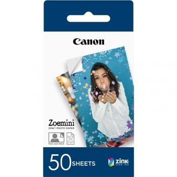 Fotopapír Canon ZP-2030, 50x76 mm, 50 ks, pro Zoemini
