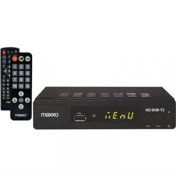 Set-top box Maxxo STB T2 + senior ovladač černý + dárek