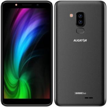 Mobilní telefon Aligator S6000 Dual SIM černý