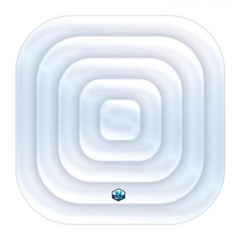 Nafukovací disk NETSPA čtvercový