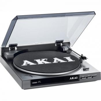 Gramofon AKAI TTA01USB šedý