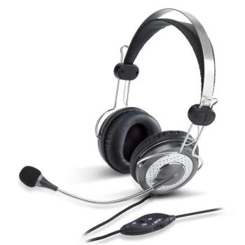 Headset Genius HS-04SU černý/stříbrný