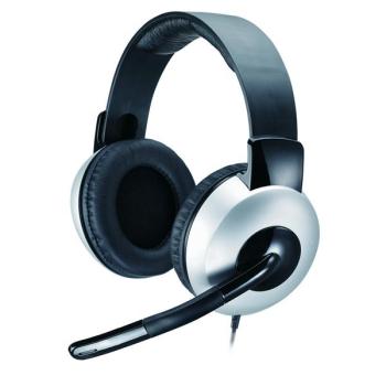 Headset Genius HS-05A černý/stříbrný