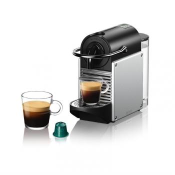 Espresso DeLonghi Nespresso EN124.S stříbrné