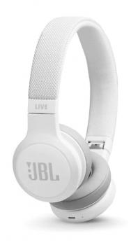 Sluchátka JBL LIVE 400BT bílá