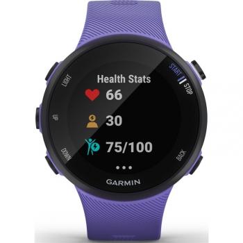 GPS hodinky Garmin Forerunner 45S Optic fialové