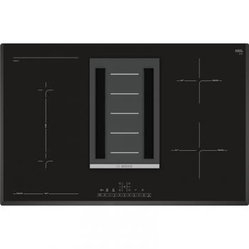 Indukční varná deska s odsáváním Bosch PVS851F21E černá