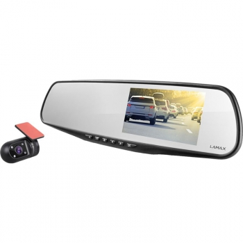 Autokamera LAMAX S7 Dual GPS černá