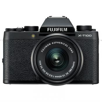 Digitální fotoaparát Fujifilm X-T100 + XC15-45 černý