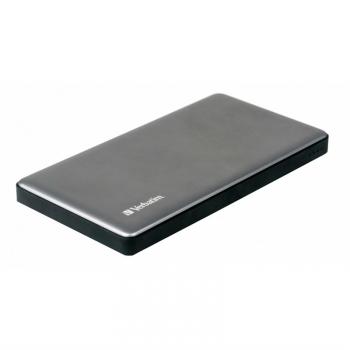 Powerbank Verbatim 10000 mAh, USB-C PD, QC 3.0 stříbrná