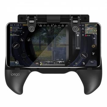 Gamepad iPega Extendable Game Grip, iOS/Android černý