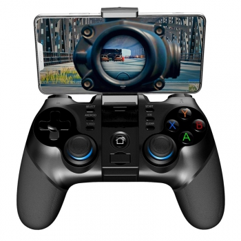 Gamepad iPega 3v1 s USB přímačem, iOS/Android, BT černý