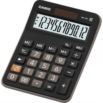 Kalkulačka Casio MX-12B BK černá