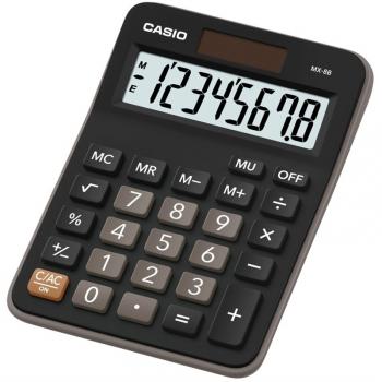 Kalkulačka Casio MX-8B BK černá