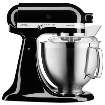 Kuchyňský robot KitchenAid Artisan 5KSM185PSEOB černý