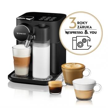 Espresso DeLonghi Nespresso Gran Lattissima EN650.B černé