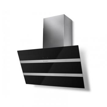 Odsavač par Faber STEELMAX EV8 BK/X A80 černý/sklo