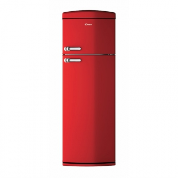 Chladnička Candy Retro CVRDS6174RH červená