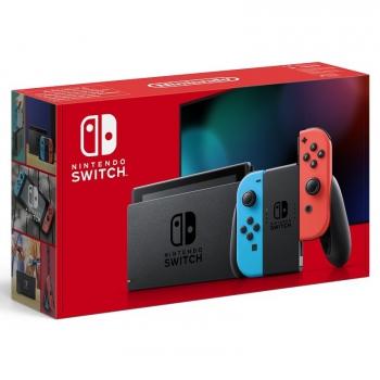 Herní konzole Nintendo Switch s Joy-Con v2 červená/modrá