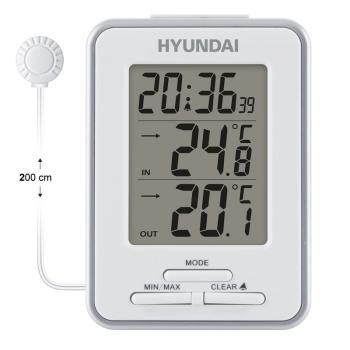 Meteorologická stanice Hyundai WS 1021 bílá