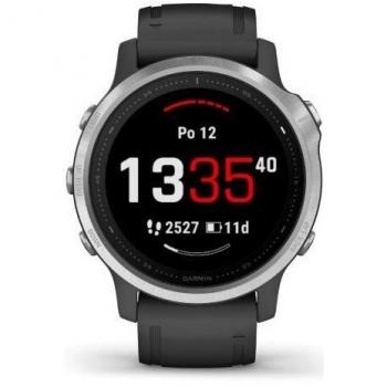 GPS hodinky Garmin fenix6S Glass černé/stříbrné