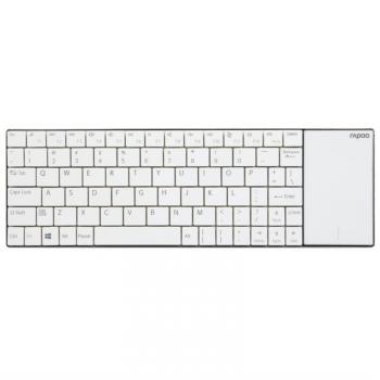 Klávesnice Rapoo E2710, CZ+SK layout bílá