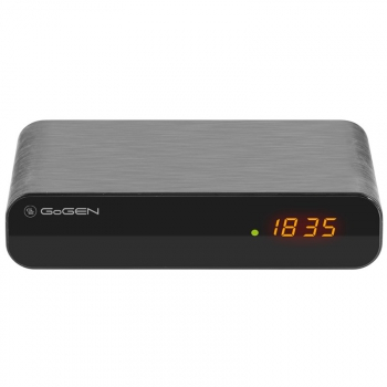 Set-top box GoGEN DVB 132 T2 PVR černý