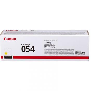 Toner Canon CRG 054, 1200 stran žlutý