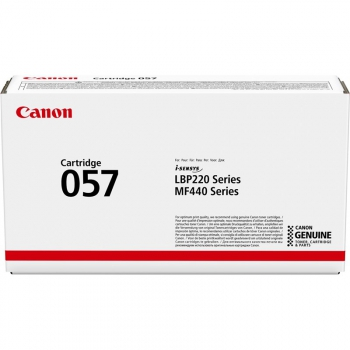 Toner Canon CRG 057, 3100 stran černý