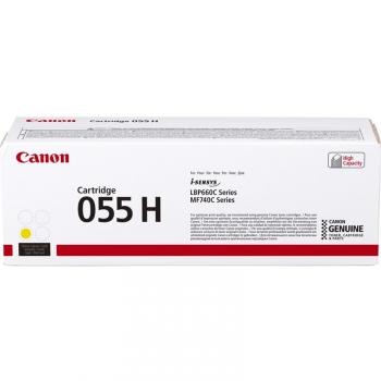 Toner Canon CRG 055 H, 5900 stran žlutý