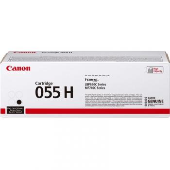 Toner Canon CRG 055 H, 7600 stran černý