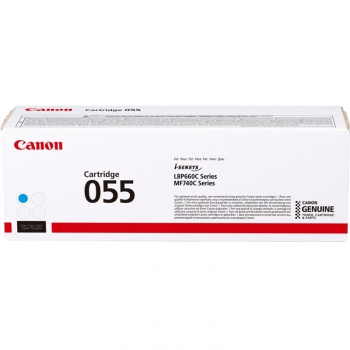 Toner Canon CRG 055, 2100 stran modrý