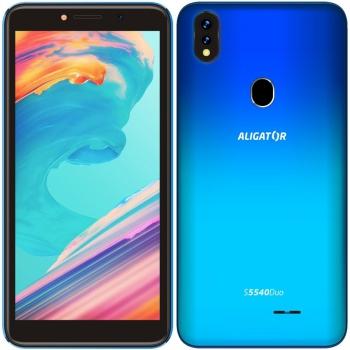 Mobilní telefon Aligator S5540 Dual SIM modrý
