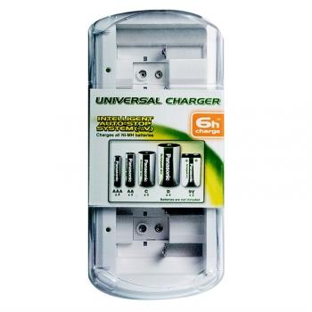 Nabíječka Panasonic BQ-CC15 Universal pro 1-4 články AA/AAA/C/D nebo 1-2 články 9V