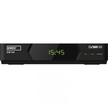 Set-top box EMOS EM190 HD černý