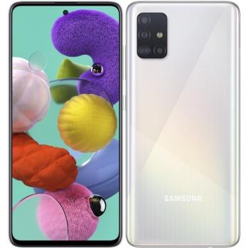 Mobilní telefon Samsung Galaxy A51 bílý