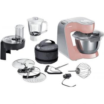 Kuchyňský robot Bosch CreationLine Premium MUM58NP60 růžový