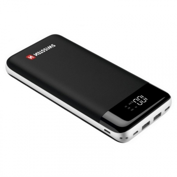 Powerbank Swissten Black Core 30000mAh, Micro USB/USB-C PD/Lightning, QC 3.0 černá