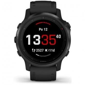 GPS hodinky Garmin fenix6S PRO Glass (MAP/Music) černé