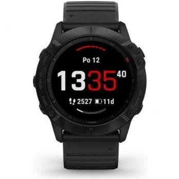 GPS hodinky Garmin fenix6X PRO Glass (MAP/Music) černé