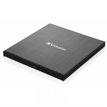 Externí Blu-ray vypalovačka Verbatim Slimline Ultra HD 4K USB-C černá