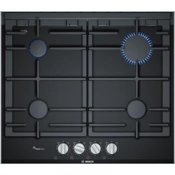 Plynová varná deska Bosch PRP6A6D70 černá