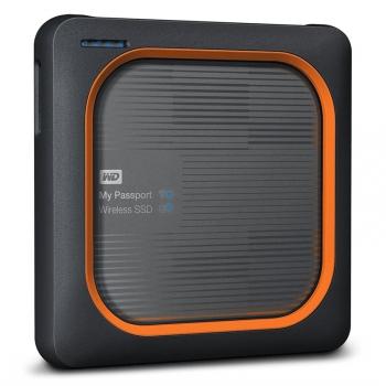 Datové uložiště (NAS) Western Digital My Passport Wireless SSD 500GB