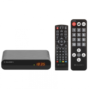Set-top box GoGEN DVB 133 T2 SENIOR černý