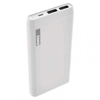 Powerbank EMOS Alpha 10S, 10000 mAh bílá