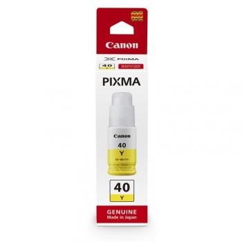 Inkoustová náplň Canon GI-40 Y, 7700 stran, 70 ml žlutá