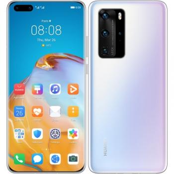 Mobilní telefon Huawei P40 Pro (HMS) 5G bílý