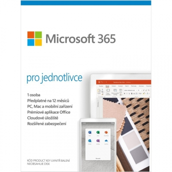 Software Microsoft 365 pro jednotlivce CZ