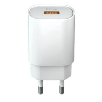 Nabíječka do sítě Forever Core 1x USB QC 3.0, 18W bílá