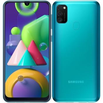 Mobilní telefon Samsung Galaxy M21 zelený